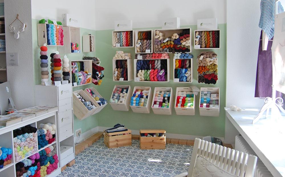 Garn Store - Pascuali-Ecke