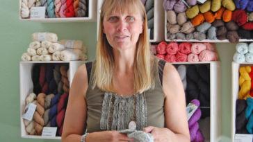 Anja Diewald vom Garn Store im Interview