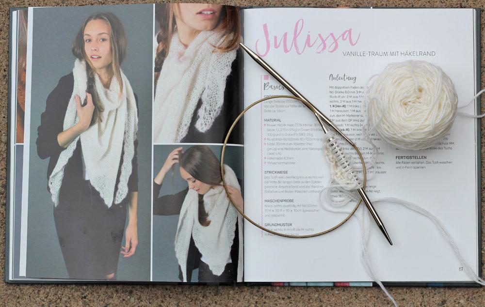 Tücher stricken - Julissa tücher stricken Buchbesprechung: Tücher stricken von Marisa Nöldeke