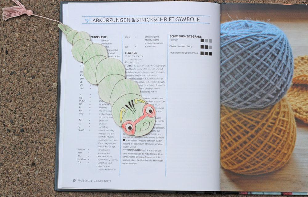 Tücher stricken - Lesezeichen tücher stricken Buchbesprechung: Tücher stricken von Marisa Nöldeke