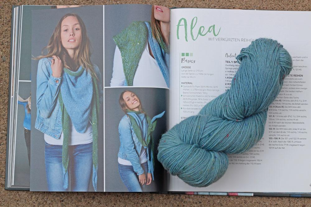 Tücher stricken - Alea tücher stricken Buchbesprechung: Tücher stricken von Marisa Nöldeke
