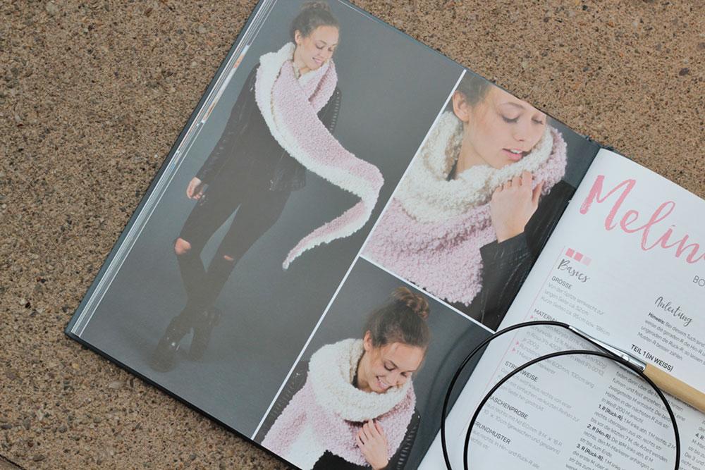 Tücher stricken - Melina tücher stricken Buchbesprechung: Tücher stricken von Marisa Nöldeke