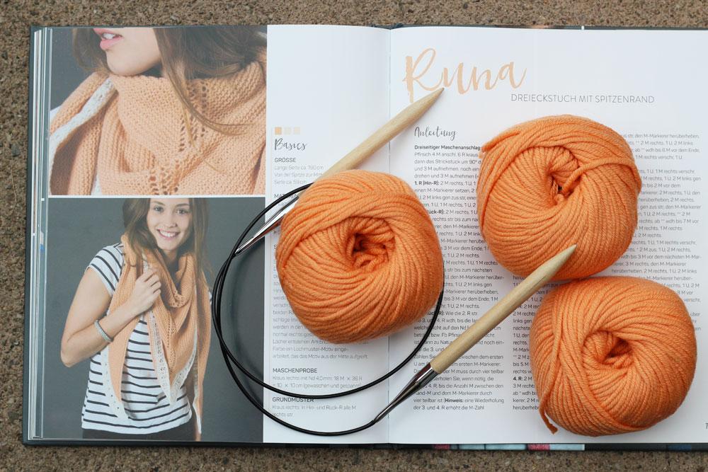 Tücher stricken - Runa tücher stricken Buchbesprechung: Tücher stricken von Marisa Nöldeke