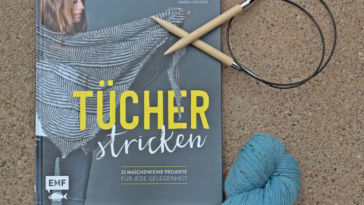 Tücher stricken - Titelbild