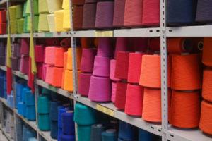 Lagerverkauf in der Hamburger Wollfabrik