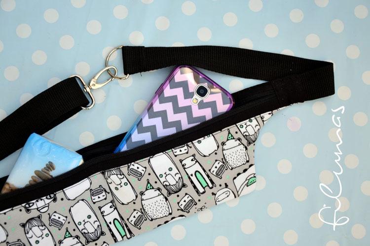 Geschenke nähen - My running belt - Filumas