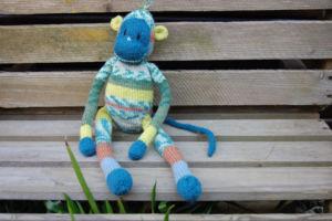 Stricken für Kinder – Affe stricken