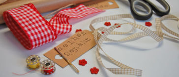 Geschenke nähen - Titelbild 11 originelle Geschenke nähen mit kostenlosen Anleitungen