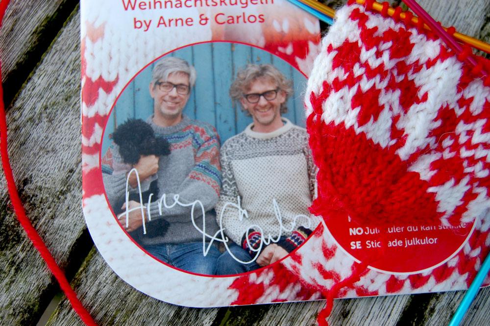 Julekuler - Weihnachtskugeln stricken - Arne & Carlos Julekuler – Weihnachtskugeln stricken für Adventskalender & Co.
