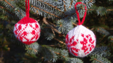 knit christmas balls how to knit christmas balls Jolekuler