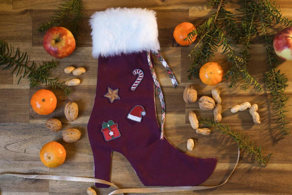anleitung-nikolausstiefel-naehen-sockshype-makema-02 how to sew a christmas stocking easy