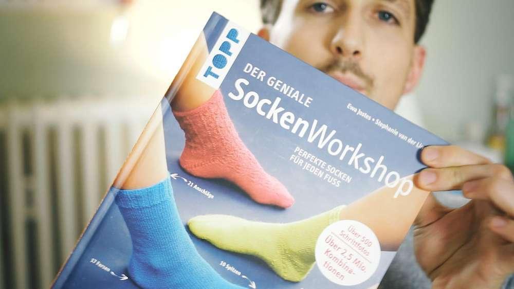Handarbeitsbücher - mit dem genialen Sockenworkshop zu perfekten Socken für jeden Fuß