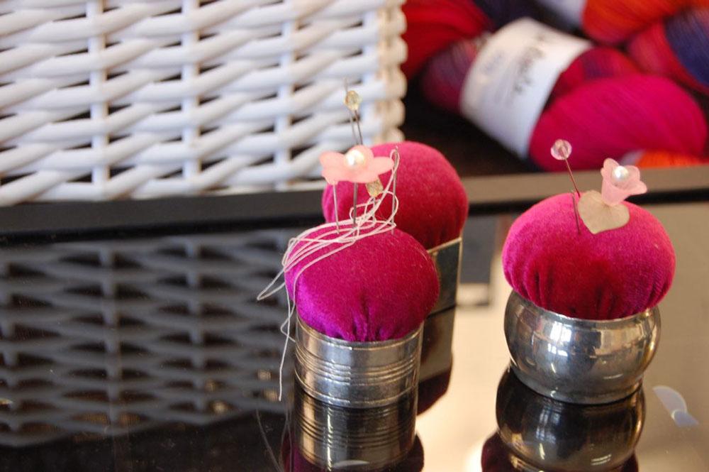 Geschenke für Stricker: Nadelkissen