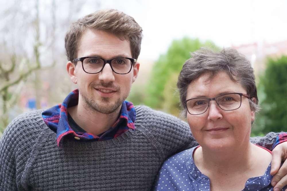 Foto Mark und Barbara Ein gutes neues Jahr!