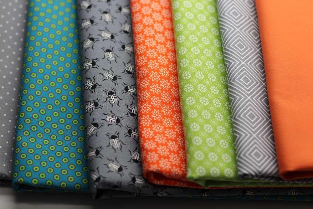 6 Köpfe - zwölf Blöcke - Stoffauswahl quilt along Teilnahme am Quilt-Along 6 Köpfe – 12 Blöcke – Anmeldung und Material