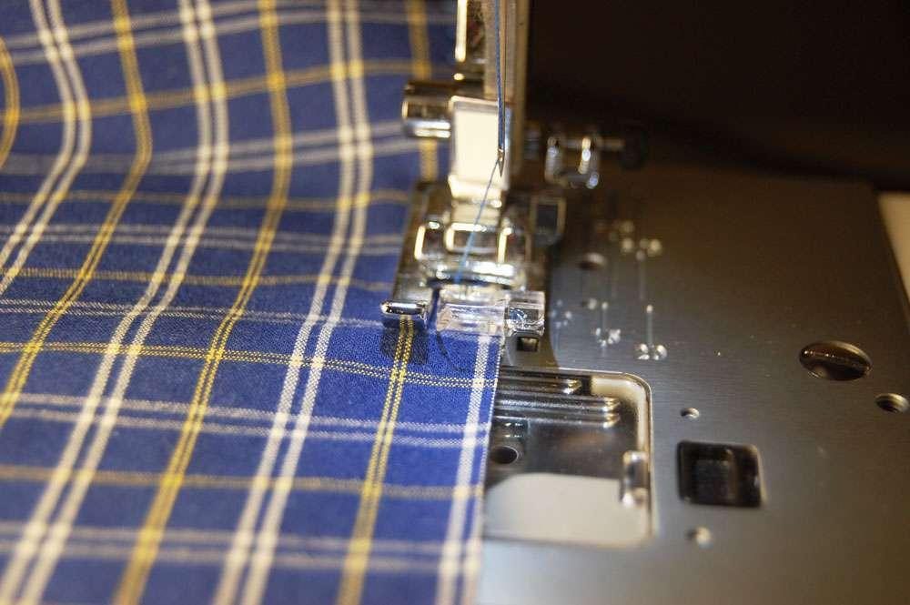 Tasche aus Hemd nähen – Nähte stoffbeutel nähen Upcycling: Tasche aus Hemd nähen