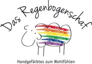 Verlosung-Das Regenbogenschaf Merino Baby Sport - Logo Verlosung: 2 handgefärbte Stränge Merino Baby Sport von Maike Schnichels