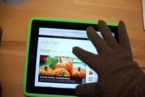 Bayak - Anleitung Handy-Handschue Verlosung: Zwei Stränge Luxusgarn Bayak von Nicole Seelbach