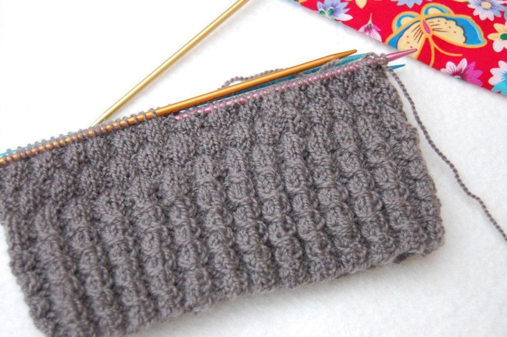 Kuschelig warme Mütze stricken - Grundmuster mütze stricken Anleitung: Kuschelig warme Mütze stricken