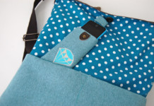 Smartphone-Tasche nähen
