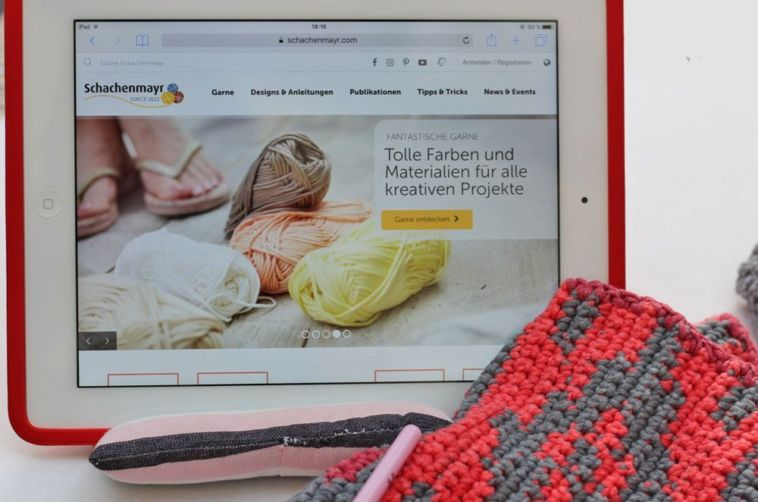 Schachenmayr - Internetseite  Sabine Mader im Interview über die Neuheiten der Schachenmayr-Webseite