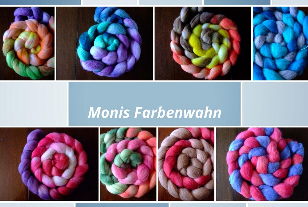 Monika Theile - Monis Farbenwahn - Kammzüge Färberin Monika Theile – Monis Farbenwahn – im Interview