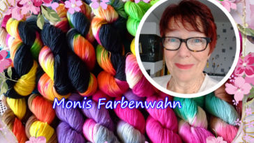Monika Theile - Monis Farbenwahn - Titelbild Färberin Monika Theile – Monis Farbenwahn – im Interview