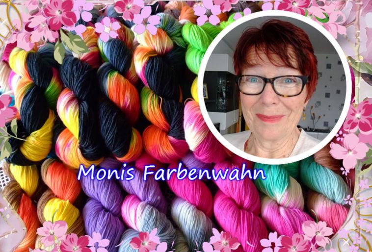 Monika Theile - Monis Farbenwahn - Titelbild Färberin Monika Theile – Monis Farbenwahn – im Interview