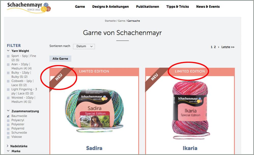 Sabine Mader im Interview über die Neuheiten der Schachenmayr-Webseite