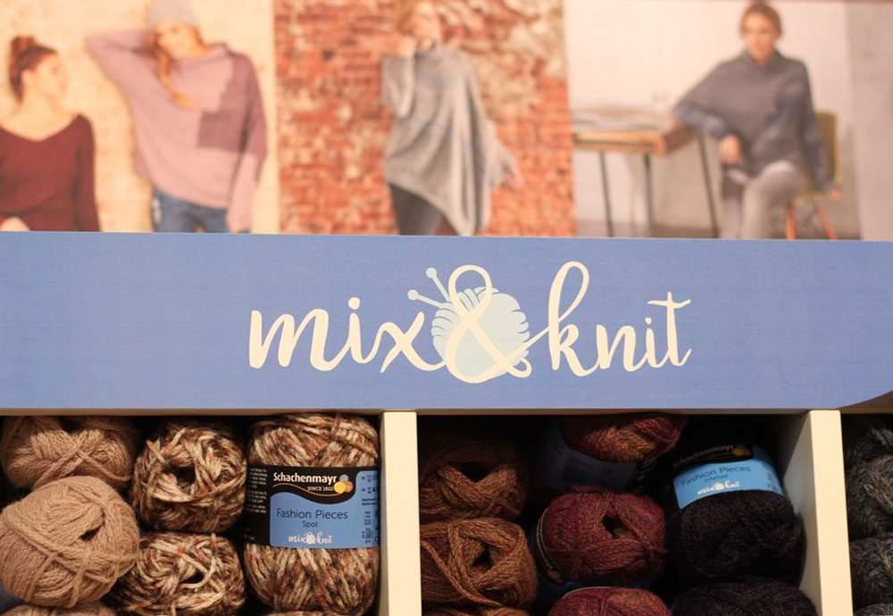 h+h cologne 2017 mix&knit - Schachenmayr