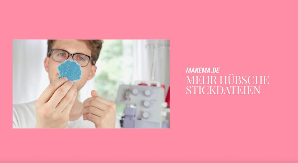 Stickdateien auf Makema.de herunterladen fadenspannung der overlock einstellen Fadenspannung der Overlock einstellen