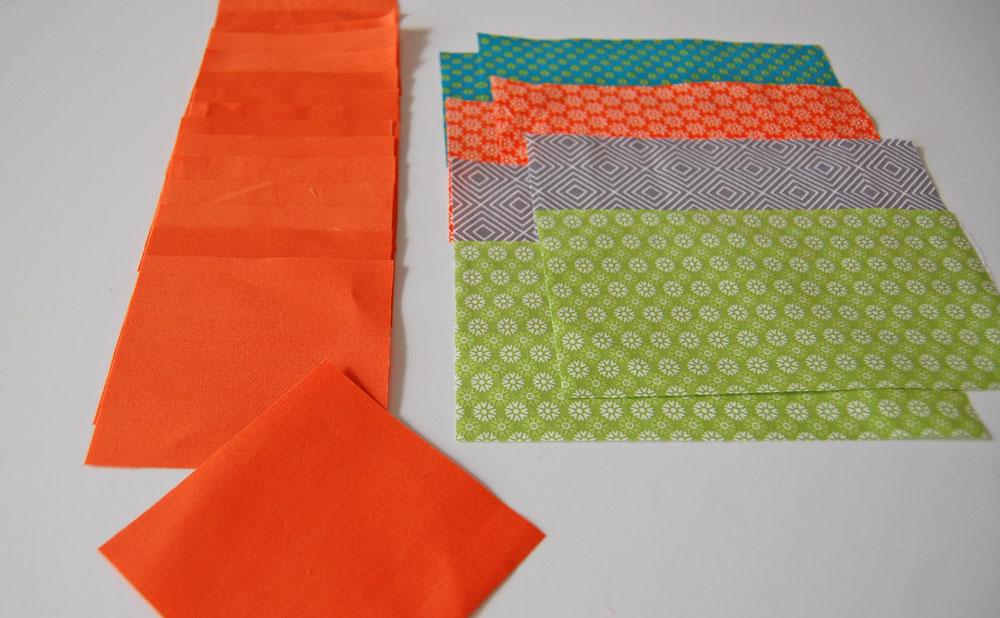 Quilt-Along 6 Köpfe - zwölf Blöcke - Maiblock - Dutchman's Puzzle