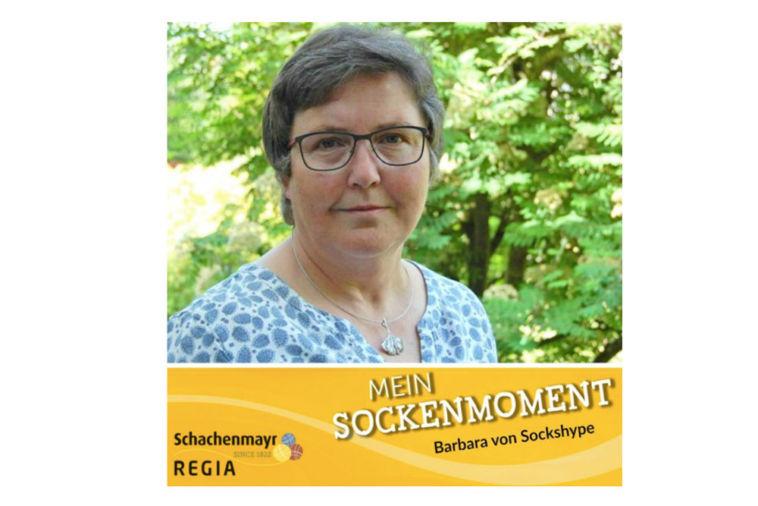 Mein Sockenmoment - Interview Mein Sockenmoment Mein Sockenmoment N°4 – Barbara im Interview bei Schachenmayr