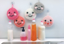 Lustige Spülschwämme häkeln - Creative Bubble