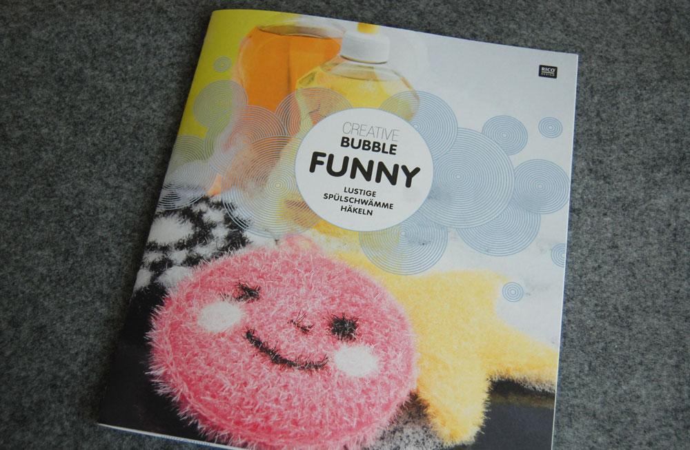 Lustige Spülschwämme häkeln - Creative Bubbel