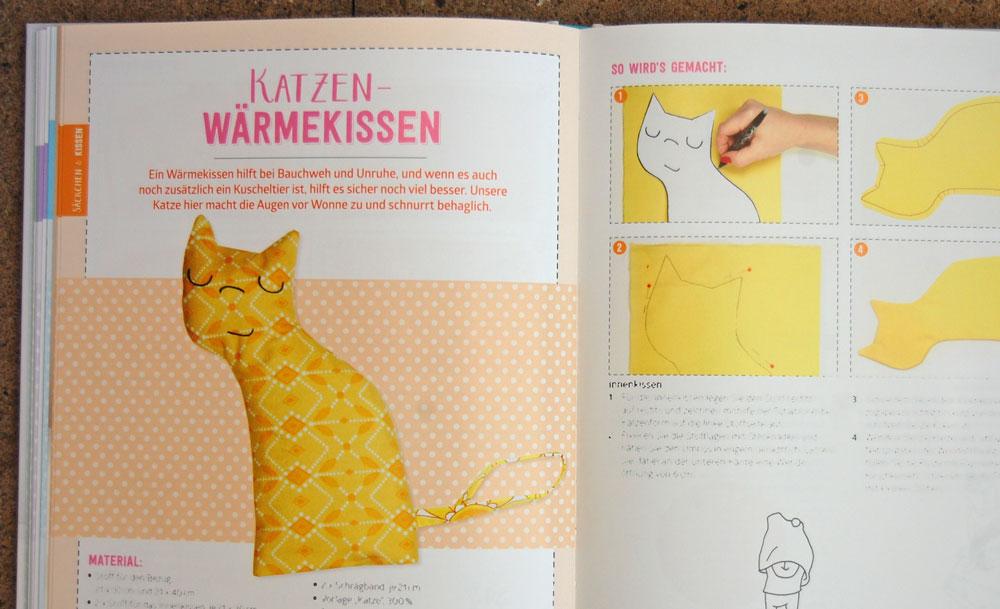 Mama Baby Nähbuch - Katzen-Wärmekissen