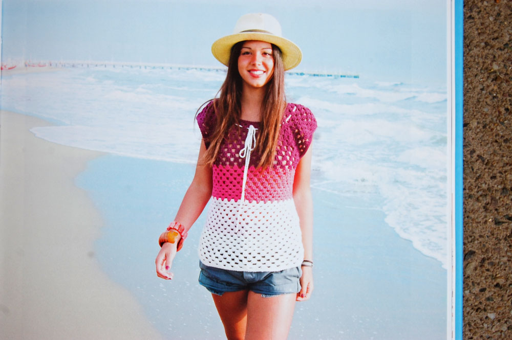 Sommer Sonne Häkelzeit - das Granny-Shirt sommer sonne häkelzeit Buchbesprechung: Sommer Sonne Häkelzeit von Michaela Lingfeld-Hertner