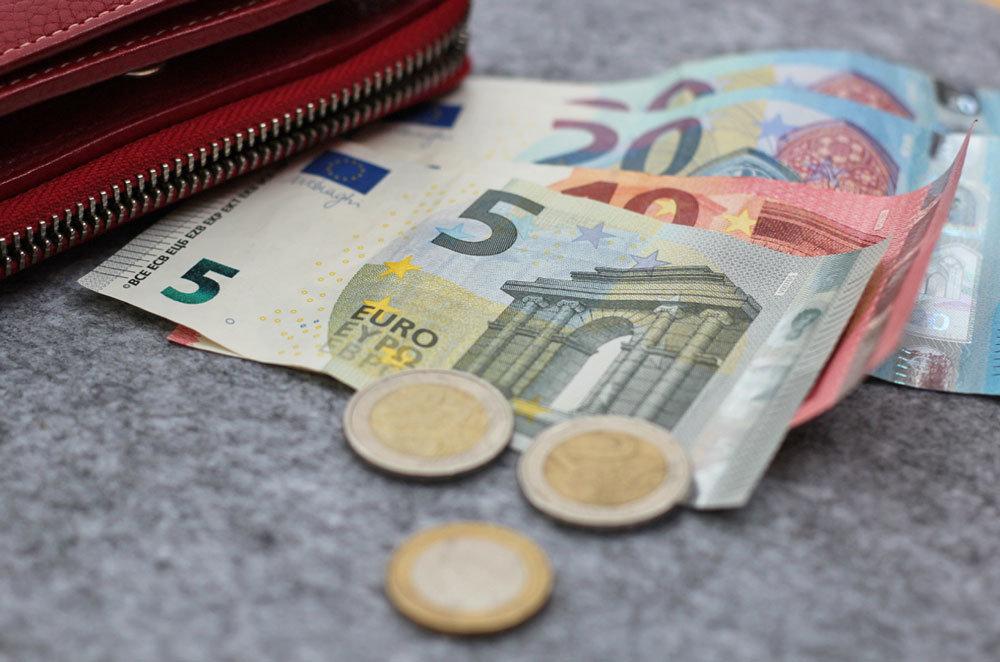 Kreativmarkt - Kleingeld mitnehmen