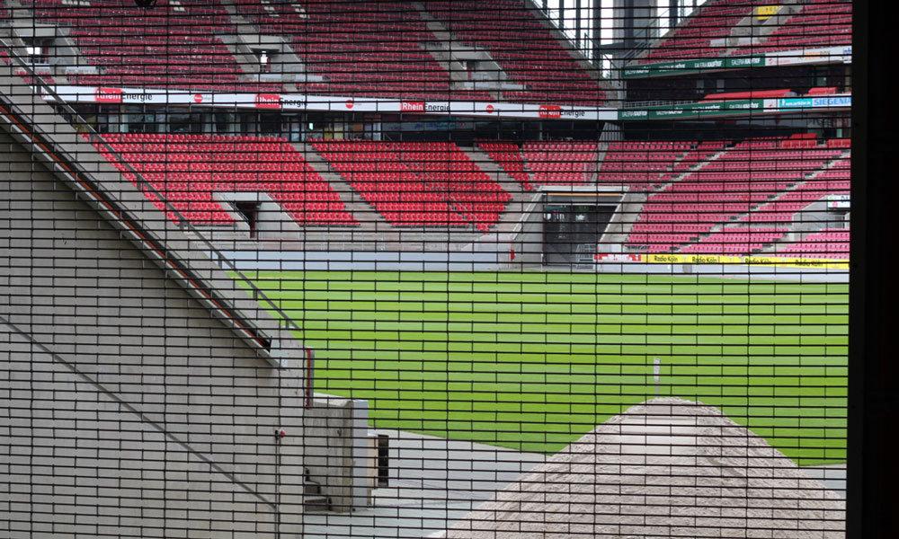Kölner Creativ Sommer 2017 - Stadion beim Kreativmarkt