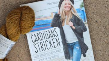 Cardigans stricken - Titelbild cardigans stricken Cardigans stricken – Jennifer Schleich – Buchbesprechung