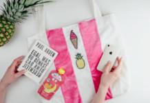DIY Anleitung: Hübsche Strandtasche nähen in 6 Schritten