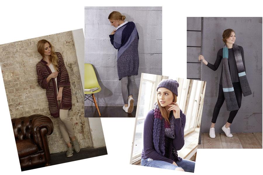 mix&knit weitere Strick- und Häkelprojekte