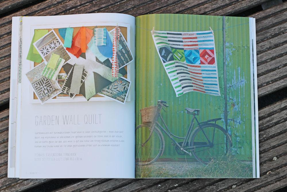 Quilten-mit-Pep - Gardens Wall Quillt quilten mit pep Quilten mit Pep von Lucie Summers – Buchbesprechung