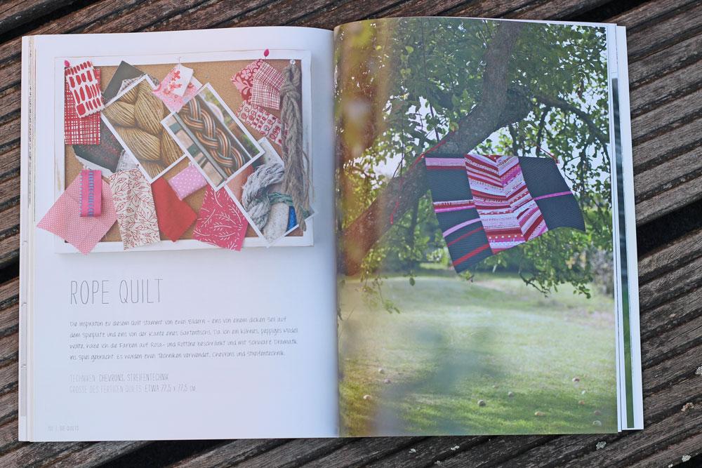 Quilten-mit-Pep - Rode Quilt quilten mit pep Quilten mit Pep von Lucie Summers – Buchbesprechung