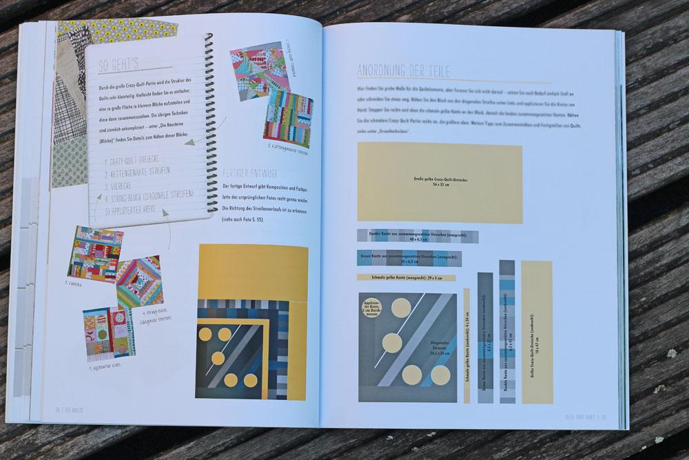 Quilten-mit-Pep - So geht es quilten mit pep Quilten mit Pep von Lucie Summers – Buchbesprechung