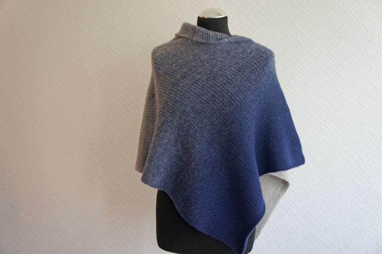 Poncho stricken aus Made in Germany GALA - Anleitung - sockshype