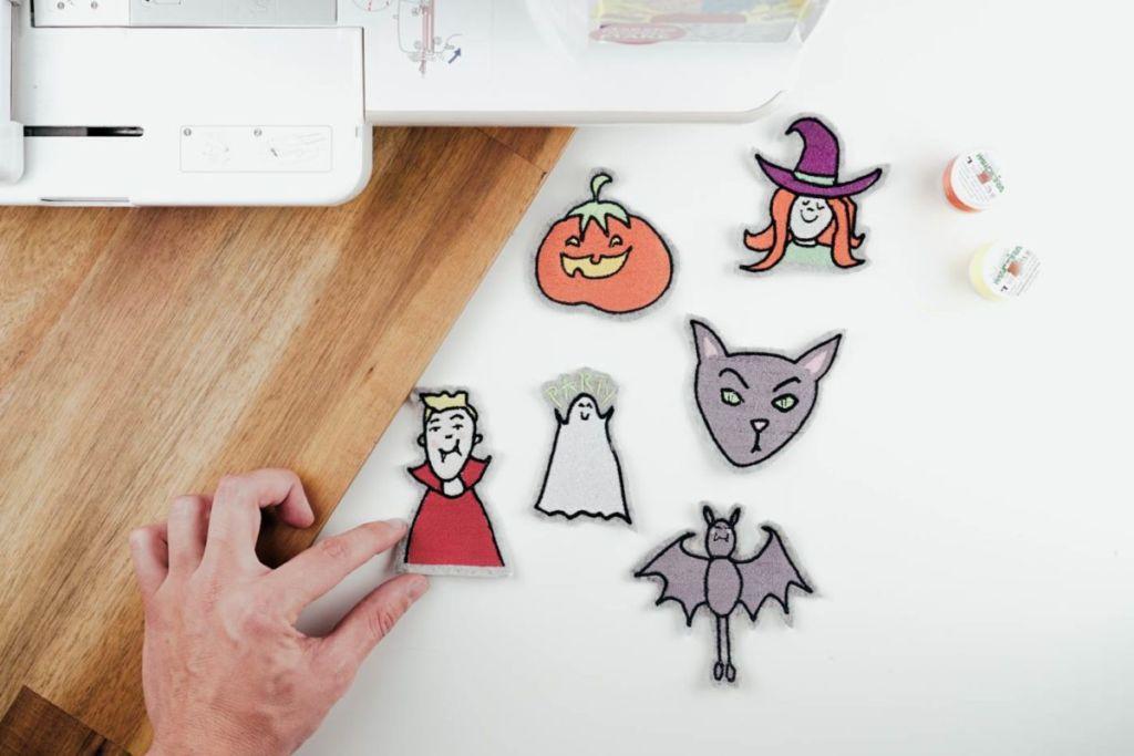 Halloween Stickdateien herunterladen