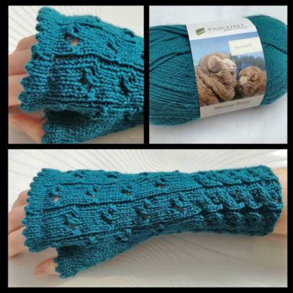 Armstulpen stricken - Susanne armstulpen stricken Trendige Armstulpen stricken mit dem Sockenwunder – Anleitung