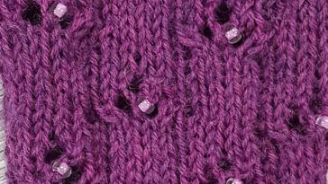 Perlen einstricken von Gabi Heilig-Oberthühr_Titelbild perlen einstricken Perlen einstricken – Stricktipp