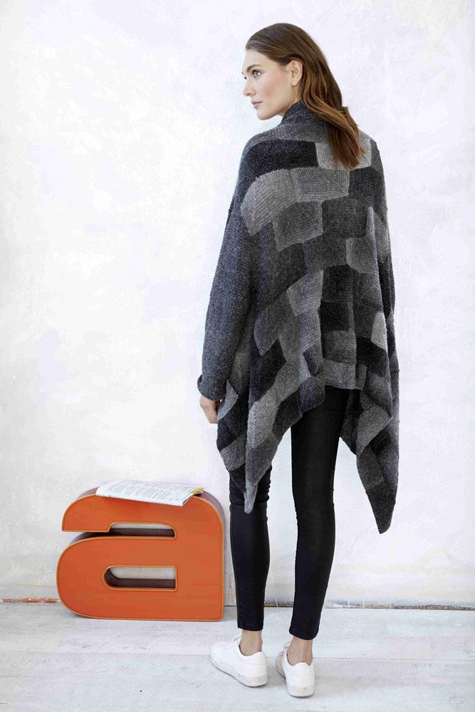 mix&knit-along - Peaceful Cardigan Rückseite